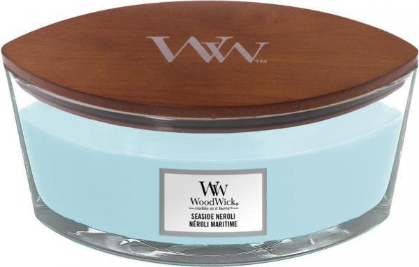WoodWick - Hearthwick Ellipse Jar - Seaside Neroli