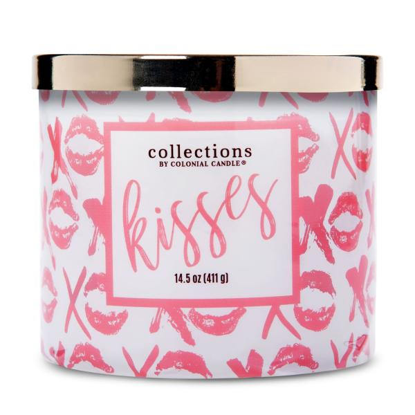 Colonial Candle - Mittlere Duftkerze im Glas - Everyday Luxe - Vday Kisses