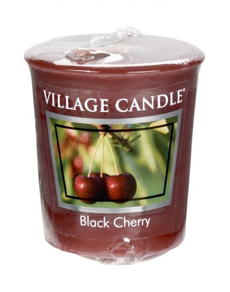 Village Candle - Votivkerze - Black Cherry