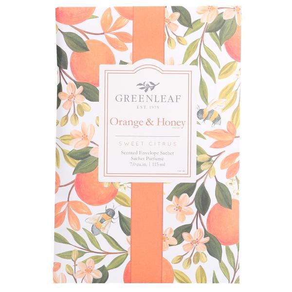 Greenleaf - Duftsachet Large - Orange & Honey