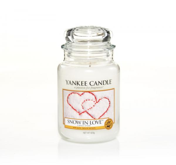 Yankee Candle - Classic Large Jar Housewarmer - Snow In Love Δ