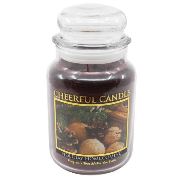 Cheerful Candle - Classic Large Jar - Duftkerze im Glas - Holiday Homecoming