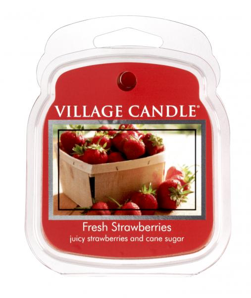 Village Candle - Wax Melt - Fresh Strawberries º*