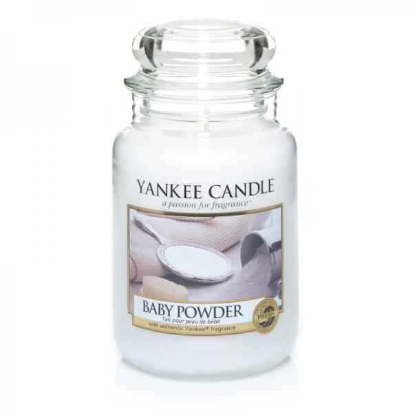 Yankee Candle - Classic Large Jar Housewarmer - Baby Powder