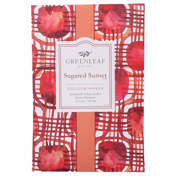 Greenleaf - Duftsachet Large - Sugared Sunset