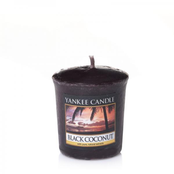Yankee Candle - Classic Votive - Votivkerze - Black Coconut