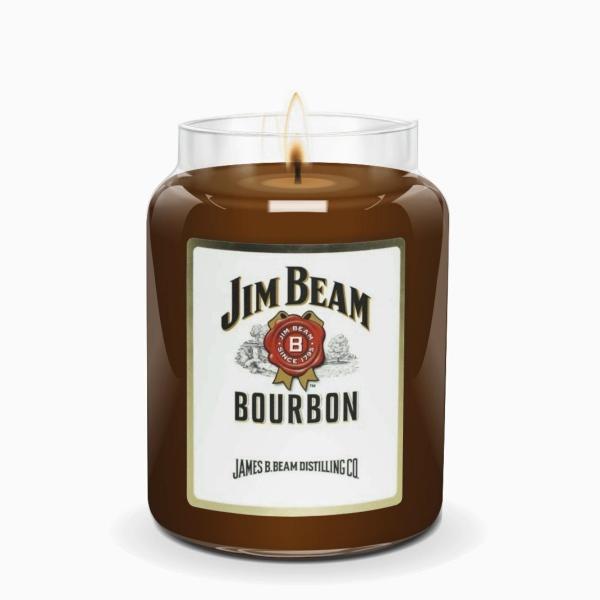 Candleberry - Duftkerze im Glas - Jim Beam Bourbon