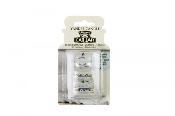 Yankee Candle - Autoduft - Car Jar Ultimate - Fluffy Towels