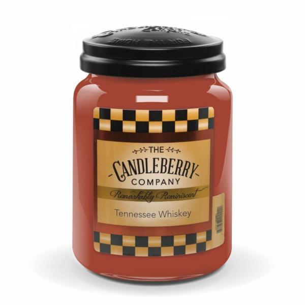 Candleberry - Duftkerze im Glas - Tennessee Whiskey
