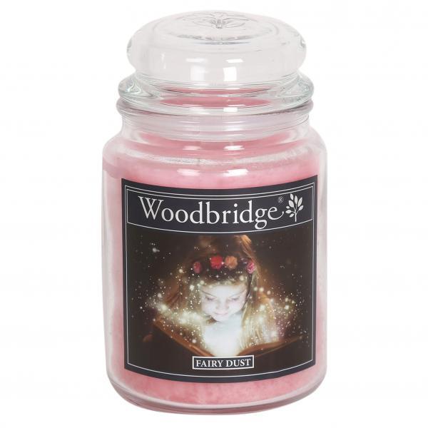 Woodbridge Candle - Große Duftkerze im Glas - Fairy Dust