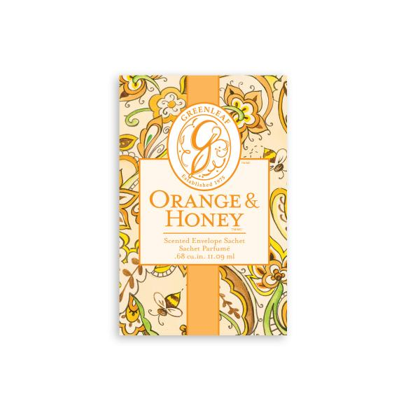 Greenleaf - Duftsachet Small - Orange & Honey