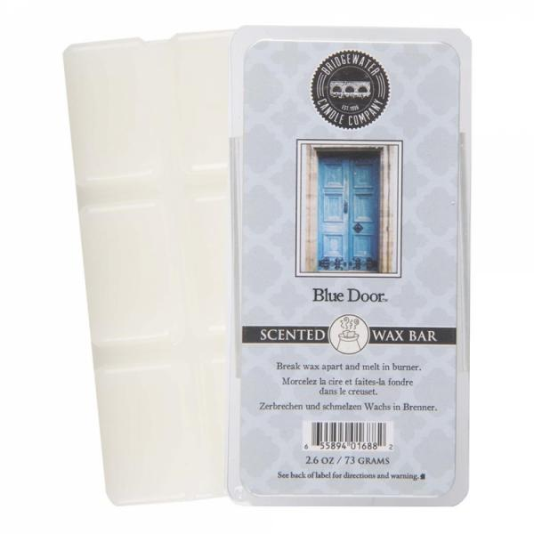 Bridgewater Candle - Scented Wax Bar - Blue Door