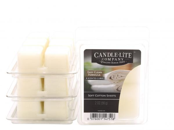 Candle-Lite Company - Wax Cubes - Duftwachs - Soft White Cotton
