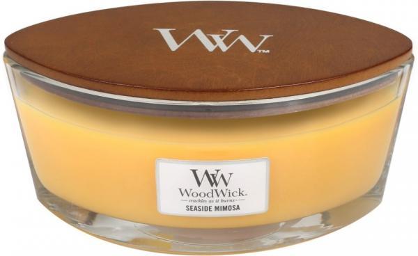 WoodWick - Hearthwick Ellipse Jar - Seaside Mimosa
