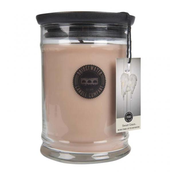 Bridgewater Candle - Große Duftkerze im Glas - Large Jar - Sweet Grace χ