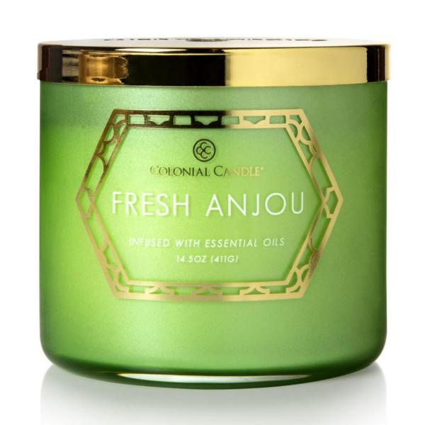 Colonial Candle - Mittlere Duftkerze im Glas - Everyday Luxe - Frech Anjou