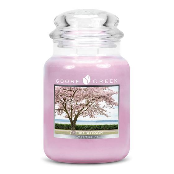 Goose Creek Candle - Classic Jar Duftkerze im Glas - Cherry Blossom •