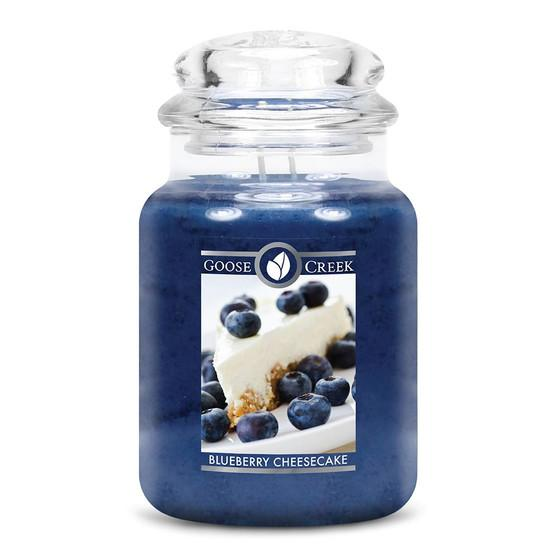 Goose Creek Candle - Classic Jar Duftkerze im Glas - Blueberry Cheesecake