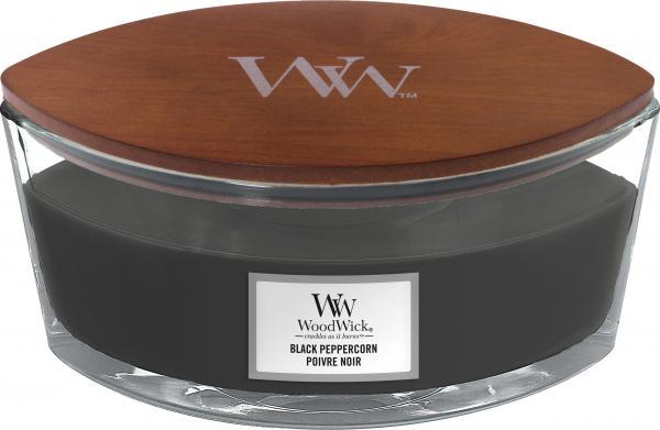 WoodWick - Hearthwick Ellipse Jar - Black Peppercorn