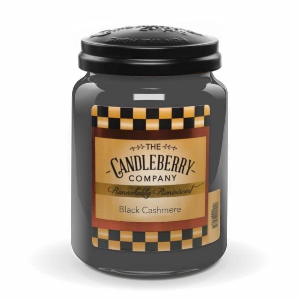 Candleberry - Duftkerze im Glas - Black Cashmere