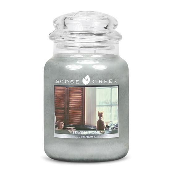 Goose Creek Candle - Classic Jar Duftkerze im Glas - Staying Home