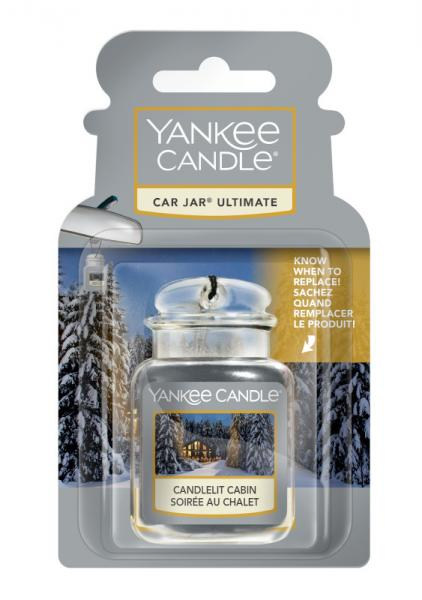Yankee Candle - Autoduft - Car Jar Ultimate - Candlelit Cabin Δ