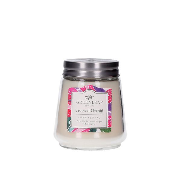 Greenleaf - Duftkerze im Glas - Petite Candle - Tropical Orchid
