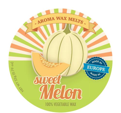 *Aroma Wax Melts - Duftwachs - Sweet Melon