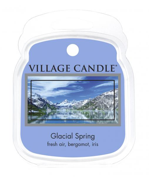 Village Candle - Wax Melt - Glacial Spring