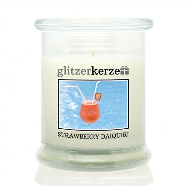 glitzerkerze - Duftkerze - Strawberry Daiquiri