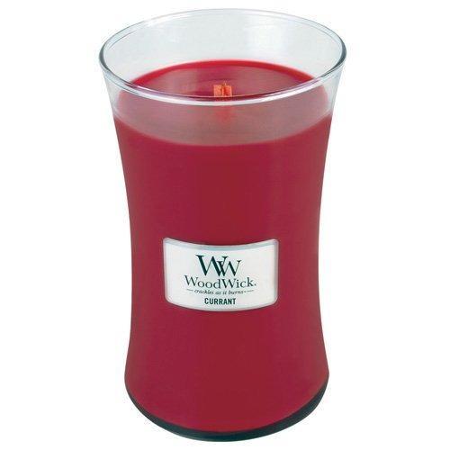 WoodWick - Large Hourglass Duftkerze - Currant