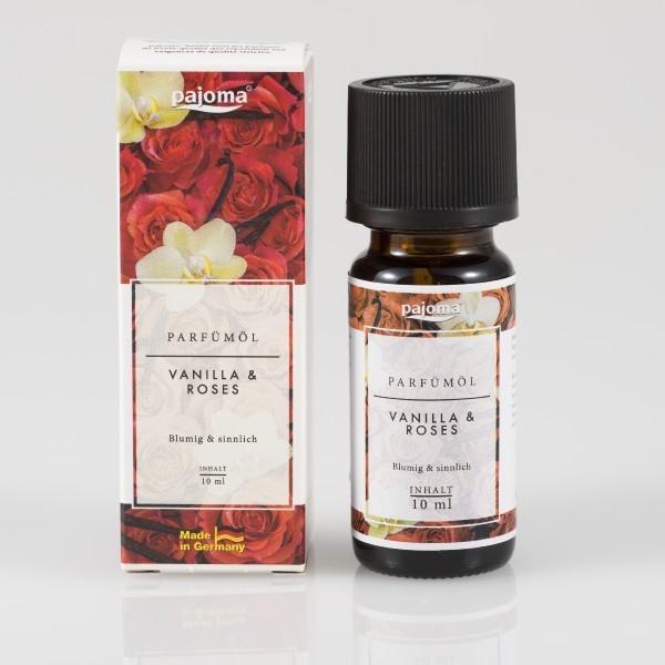 Pajoma - Parfümöl - Duftöl - Vanilla & Roses