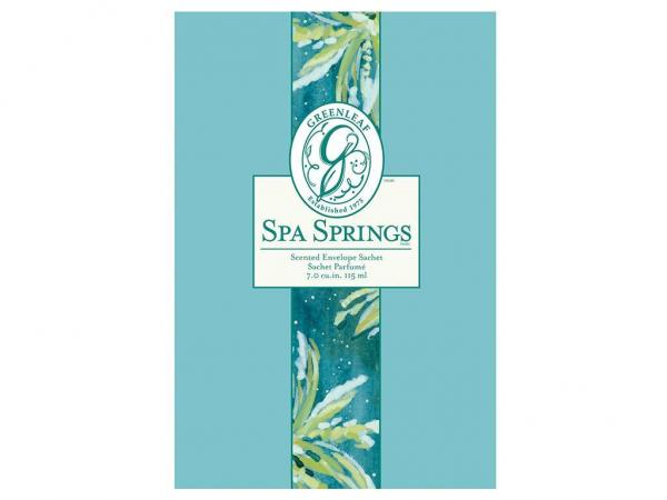 Greenleaf - Duftsachet Large - Spa Springs