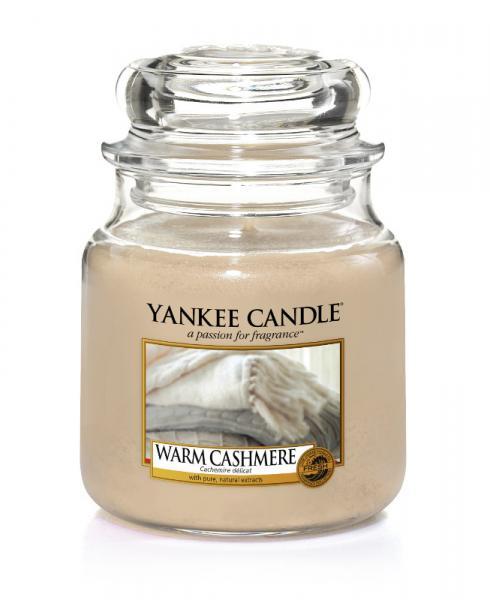 Yankee Candle - Classic Medium Jar Housewarmer - Warm Cashmere