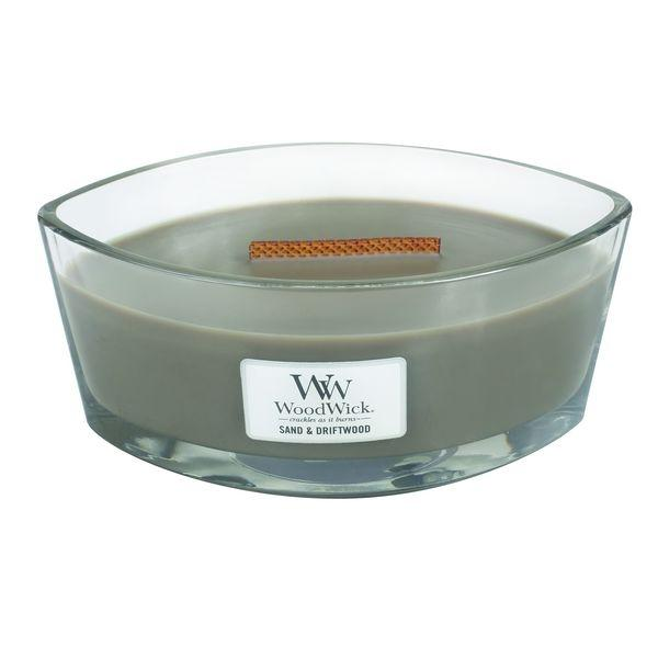 WoodWick - Hearthwick Flame Candle - Sand & Driftwood