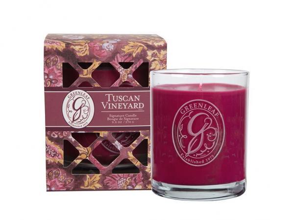 Greenleaf - Duftkerze im Glas - Signature Candle - Tuscan Vineyard