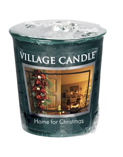 Village Candle - Votivkerze - Home For Christmas