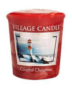 Village Candle - Votivkerze - Coastal Christmas
