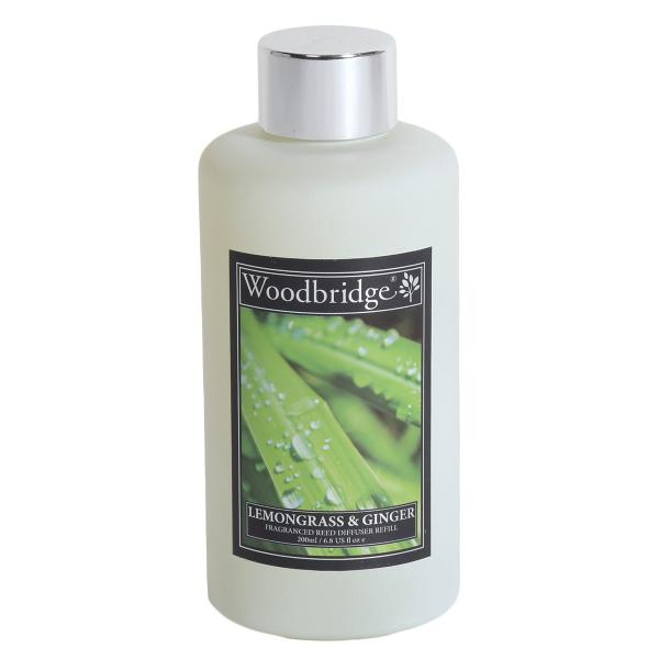 Woodbridge Candle - Reedöl - Lemongrass&Ginger