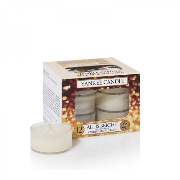 Yankee Candle - Teelichter - Classic Tea Lights - All is Bright Δ