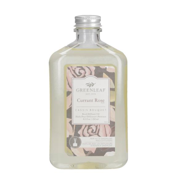 Greenleaf - Reed Diffuser Oil - Reedöl - Currant Rose