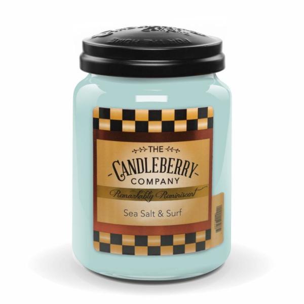 Candleberry - Duftkerze im Glas - Sea Salt & Surf