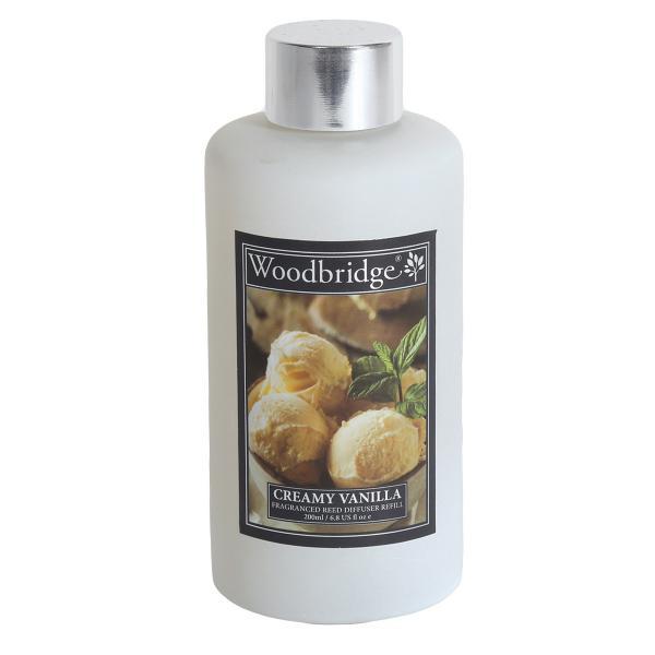Woodbridge Candle - Reedöl - Creamy Vanilla