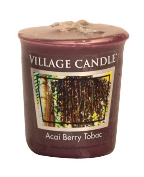 Village Candle - Votivkerze - Acai Berry Tabac