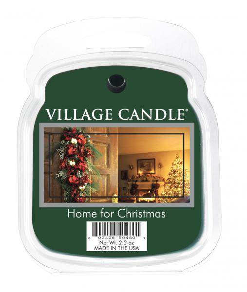 Village Candle - Wax Melt - Home For Christmas