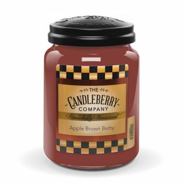 Candleberry - Duftkerze im Glas - Apple Brown Betty