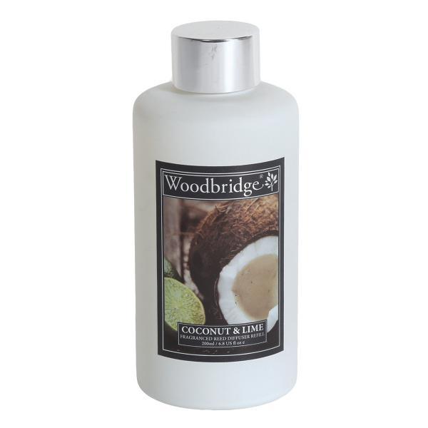 Woodbridge Candle - Reedöl - Coconut & Lime