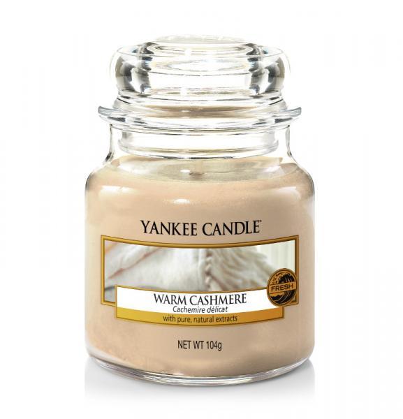 Yankee Candle - Classic Small Jar Housewarmer - Warm Cashmere