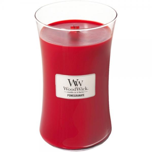 WoodWick - Large Hourglass Duftkerze - Pomegranate