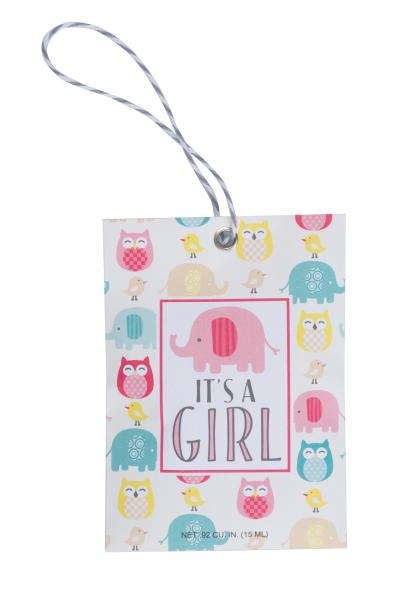 *Willowbrook - Scented Gift Tag - Duftsachet m. Hängeschlaufe - It's A Girl